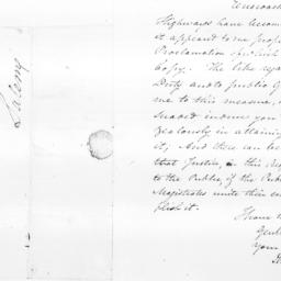 Document, 1799 November 06