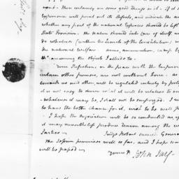 Document, 1798 January 12