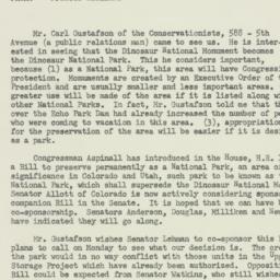Memorandum: 1956 April 20