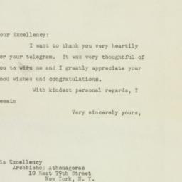 Letter: 1948 October 5