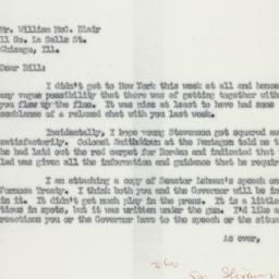 Letter: 1955 February 11