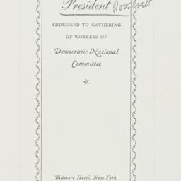 Ephemera: 1936 October 31