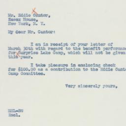 Letter: 1942 April 3