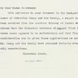 Letter: 1941 April 4