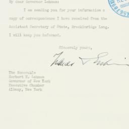 Letter: 1940 September 16
