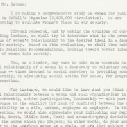 Letter: 1946 February 14
