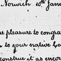 Document, 1785 January 10