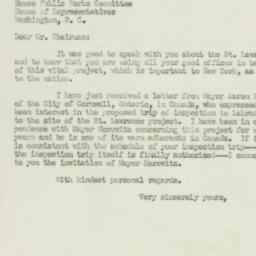 Letter: 1951 April 27