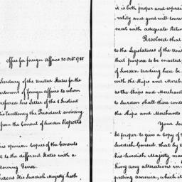 Document, 1785 October 20