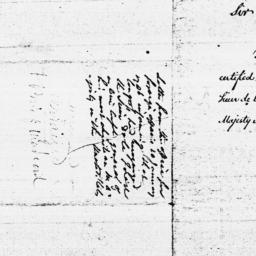 Document, 1786 January 10