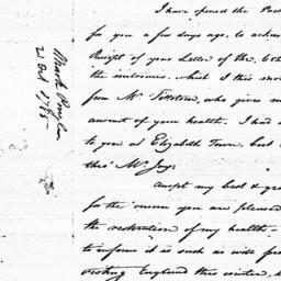 Document, 1785 October 21