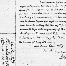 Document, 1783 March 28