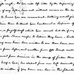 Document, 1781 February 3