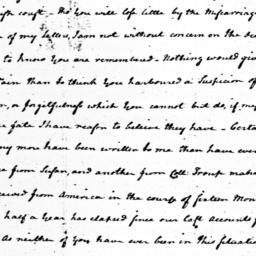 Document, 1781 February 3