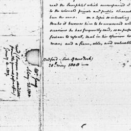 Document, 1808 May 28