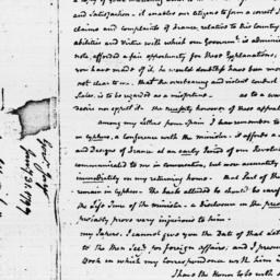 Document, 1797 January 31