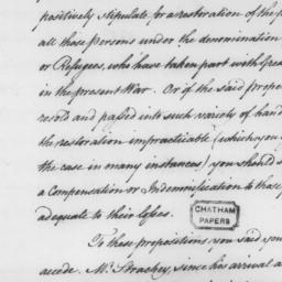 Document, 1782 November 04
