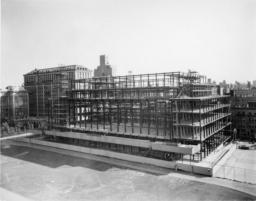 Butler Library Construction 11