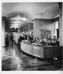 Reference Desk in Catalog Room