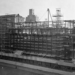 Butler Library Construction 14