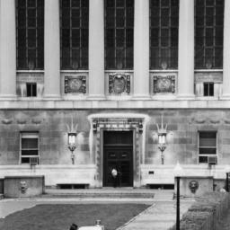 Butler Library Entrance