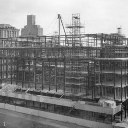 Butler Library Construction 13