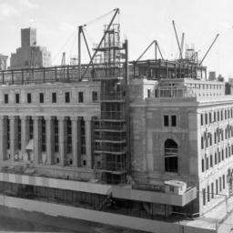 Butler Library Construction 22