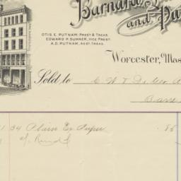 Barnard, Sumner, and Putnam...