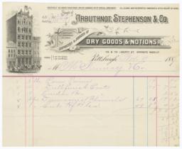 Arbuthnot, Stephenson & Co.. Bill - Recto