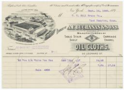 A. F. Buchanan & Sons. Bill - Recto