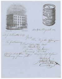 John W. Quincy. Bill - Recto