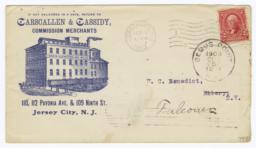 Carscallen & Cassidy. Envelope - Recto