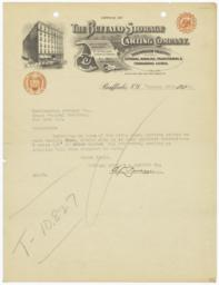 Buffalo Storage and Carting Company. Letter - Recto