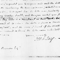 Document, 1798 October 18