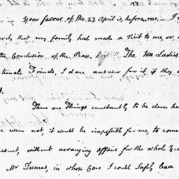 Document, 1784 May 11