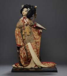 Clothed Figure Or Doll Of Shio-kumi