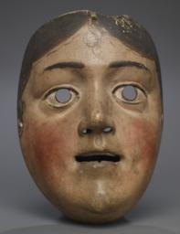 Female Mask (possibly A Saint)