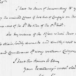 Document, 1779 January 10