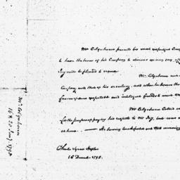 Document, 1795 January 16