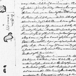 Document, 1779 March 17