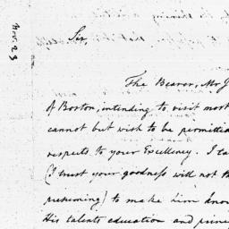 Document, 1795 November 23