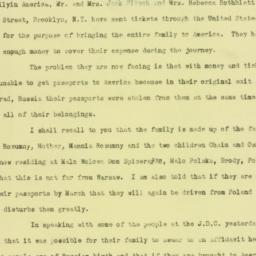 Letter: 1923 January 20