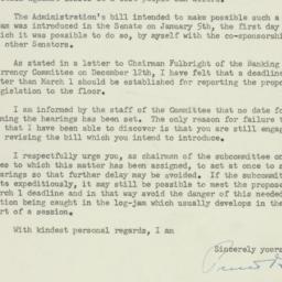 Letter: 1956 January 31