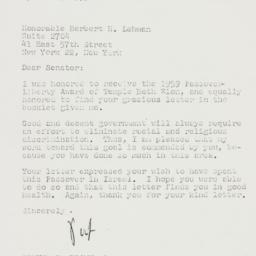 Letter: 1959 April 26