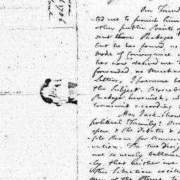 Document, 1786 March 11