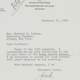 Letter: 1936 February 17