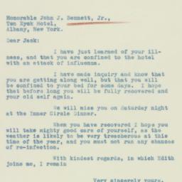 Letter: 1933 February 16