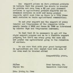 Letter: 1954 March 5