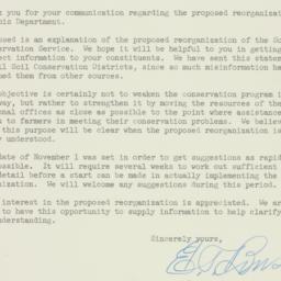 Letter: 1953 October 31