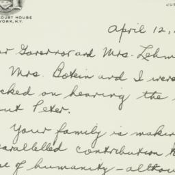 Letter: 1944 April 12